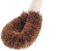 Cepillo de fibra de coco